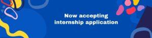 Accepting internships